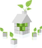 """green"" house"